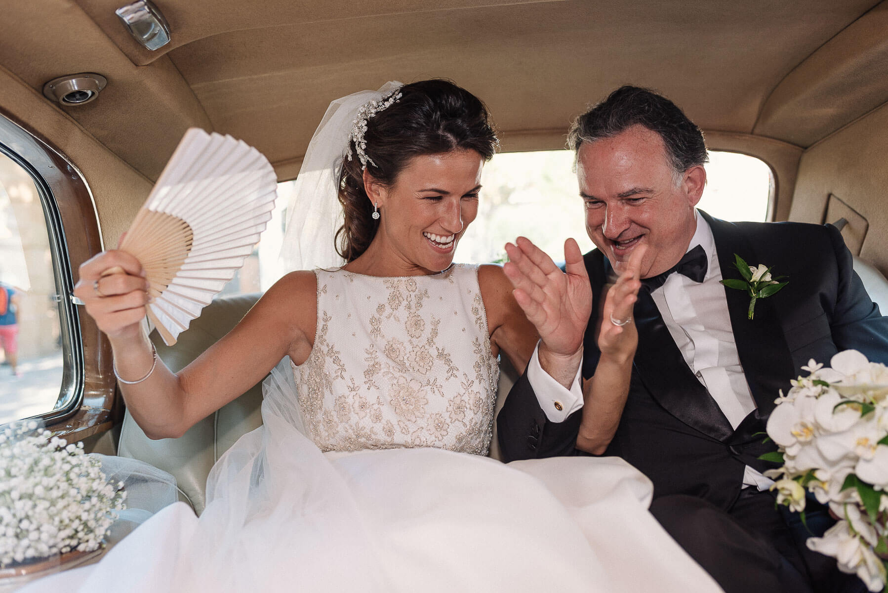 Boda Cris & Juanca novia y padre | Manel Tamayo, Wedding photographer