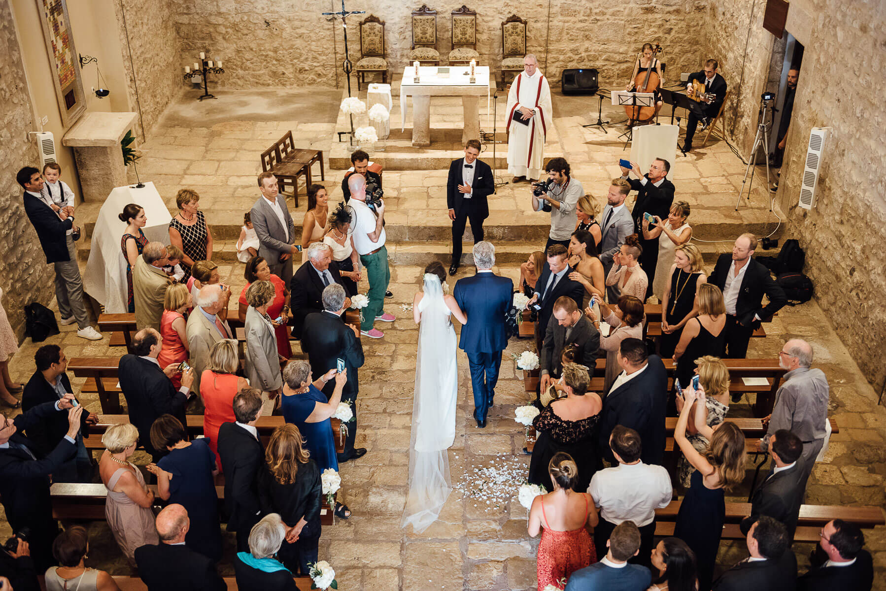 Boda Caroline & Tavish iglesia - Manel Tamayo Wedding Photographer