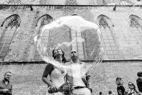 Boda Hyula & Evren novios pompas | Manel Tamayo wedding photographer
