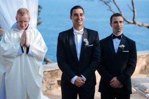 Boda Michelle & Bradley novio y testigo   Manel Tamayo wedding photographer