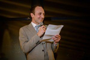 Boda Rebecca & Alastair discurso novio | Manel Tamayo Wedding Photographer