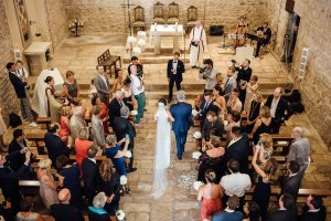 Boda Caroline & Tavish iglesia - Manel Tamayo Wedding Photographer